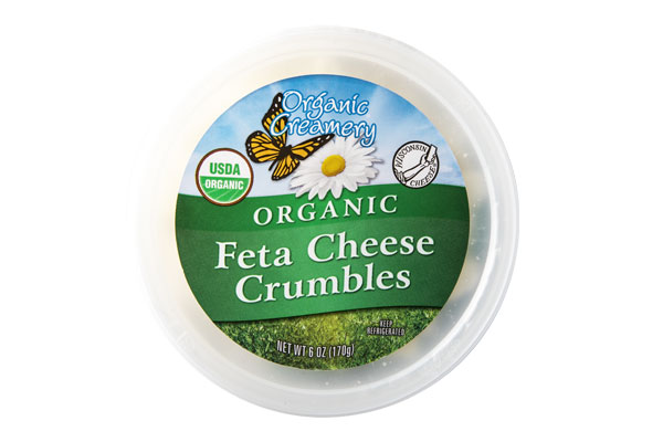 Organic Creamery Crumbled Feta Cheese