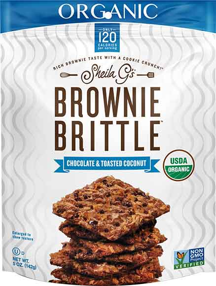 Sheila G's Organic Brownie Brittle