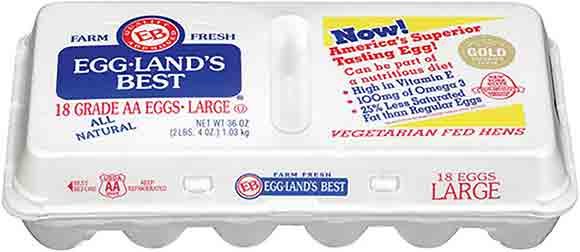 Egglands Best Large White AA Eggs