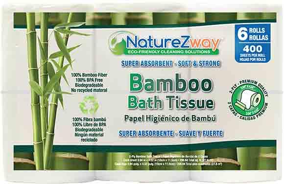 NatureZway Bamboo Bath Tissue