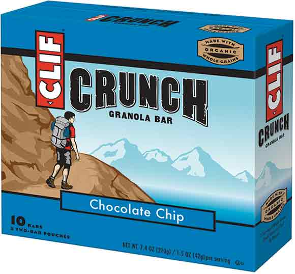 CLIF Crunch, ZBars or ZFruit Twists