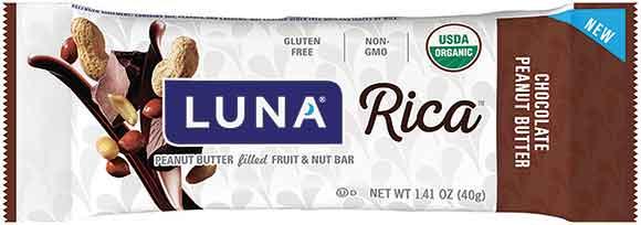 CLIF Filled or Luna Rica Bars