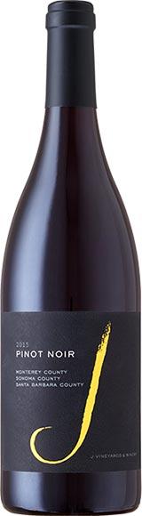 J Pinot Noir Monterey Sonoma Santa Barbara