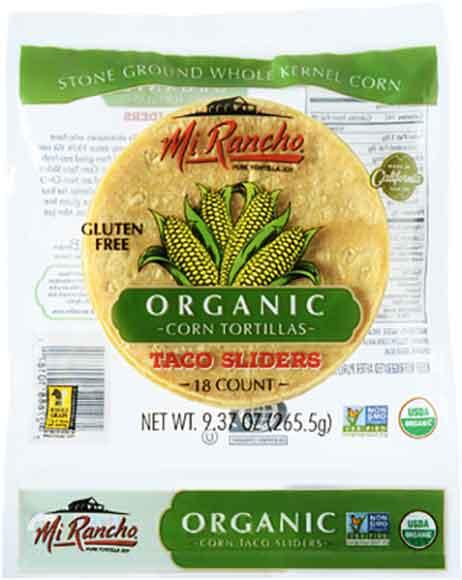 Mi Rancho Organic Corn Taco Sliders