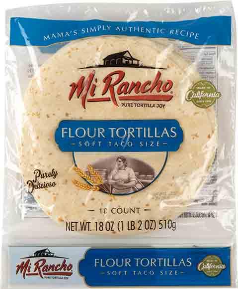 Mi Rancho Soft Taco Flour Tortillas