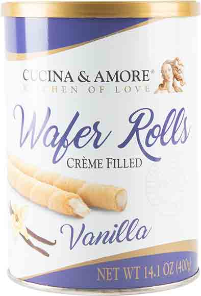 Cucina & Amore Wafer Rolls