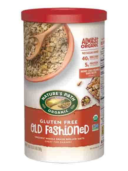 Nature's Path Gluten Free Organic Old Fashioned Oat Meal