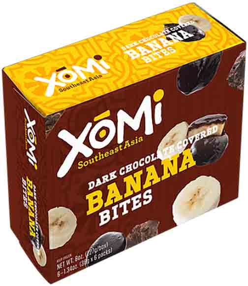 Xomi Chocolate Covered Fruit