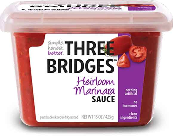 Three Bridges Fresh Pasta or Sauce