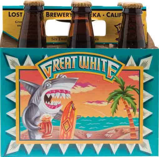 Lost Coast Brewing Great White