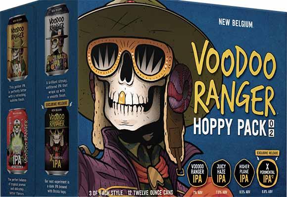 New Belgium Voodoo Ranger Hoppy Variety Pack