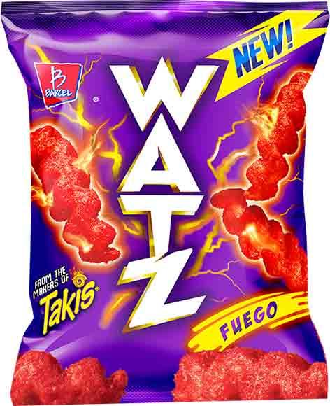 Watz Fuego, Lime Tornado or Cheese ShockChips