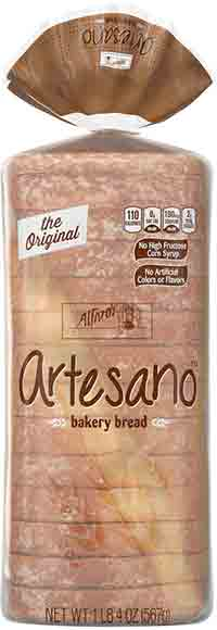 Alfaro's Artesano Sliced Brioche or White Bread