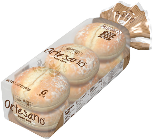 Alfaro Artesano Sausage or Hamburger Buns