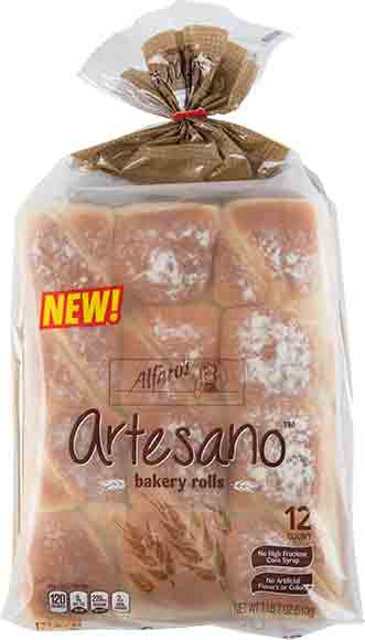 Alfaro's Artesano Rolls