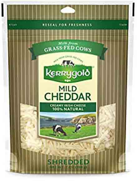 Kerrygold Shredded Cheese Mild Cheddar