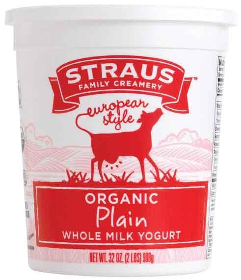 Straus Organic Yogurt