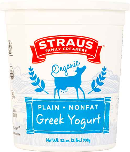 Straus Greek Yogurt
