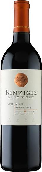 Benziger Wines Cabernet Sauvignon or Merlot