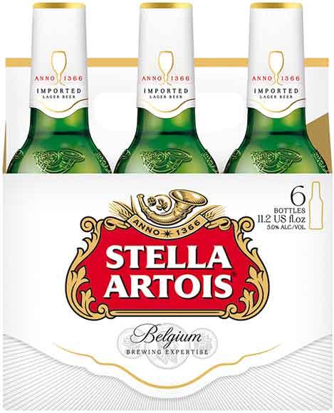 Stella Artois 6-Packs