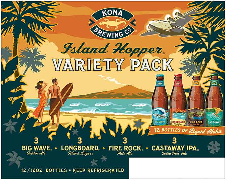 Kona 12 Packs