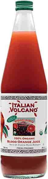 Italian Volcano 100% Organic Blood Orange Juice