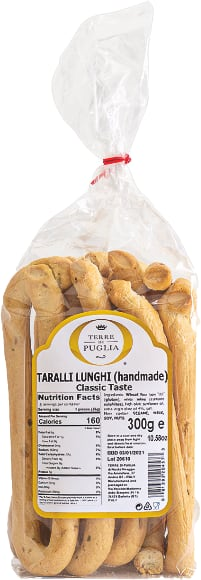 Terre Di Puglia Taralli Lunghi Handmade Classic