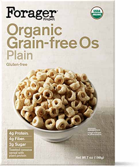 Forager Organic Grain Free Cereal