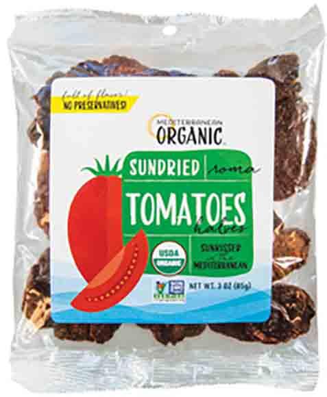 Mediterranean Organic Sundried Tomatoes
