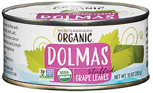 Mediterranean Organic Dolmas