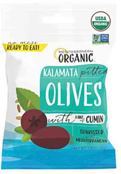 Mediterranean Organic Olives