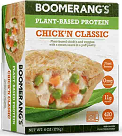 Boomerang Plant Based Meat Pies