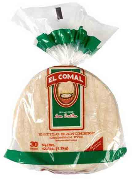 El Comal Tortillas White Corn