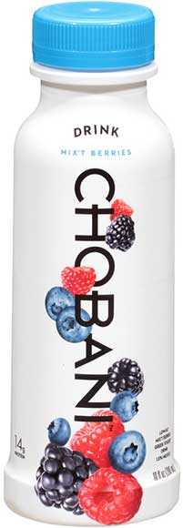 Chobani Greek Yogurt Drinks