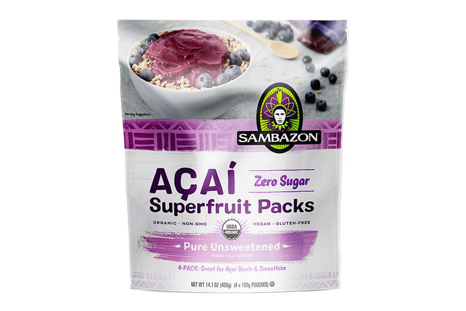 Sambazon Smoothies, Sorbet and Superfruit Packs