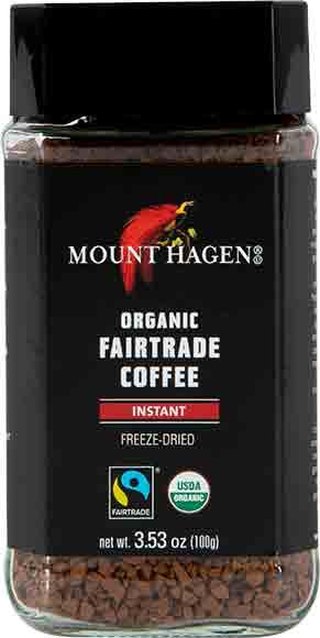 Mount Hagen Organic InstantCoffee
