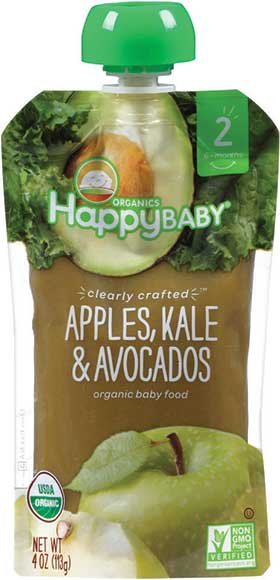 Happy Baby Clearly Crafted Organic Baby Food