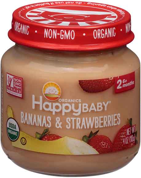 Happy Baby Organic Baby Food