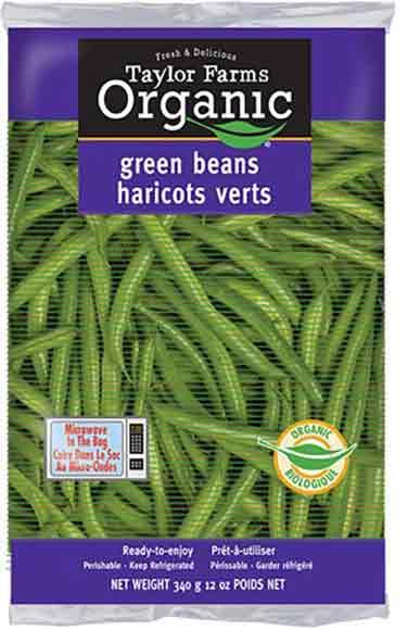 Taylor Farms Organic Green Beans