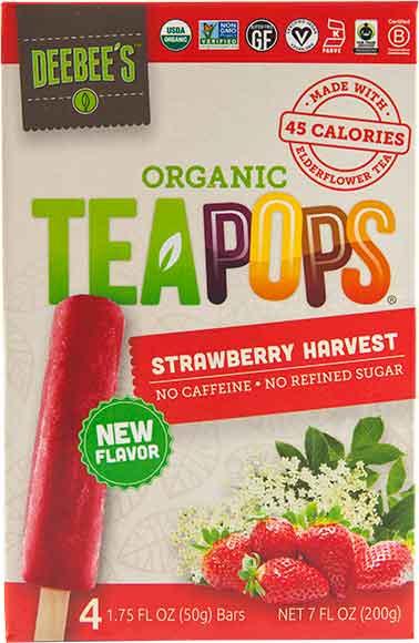 Tea Pops Popsicles