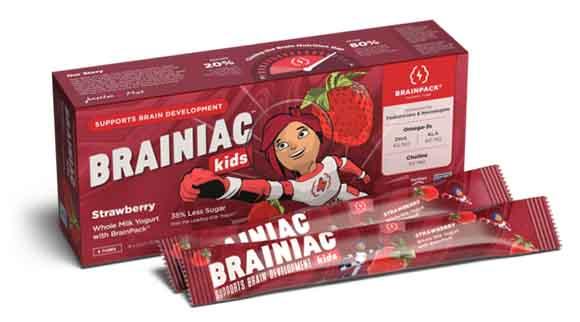 Brainiac Yogurt Tubes