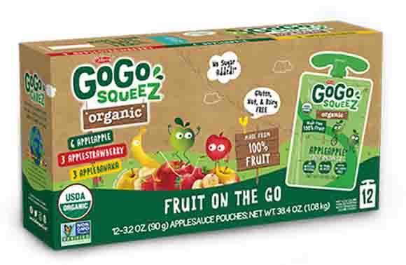 Gogo Squeez Organic Apple Sauce