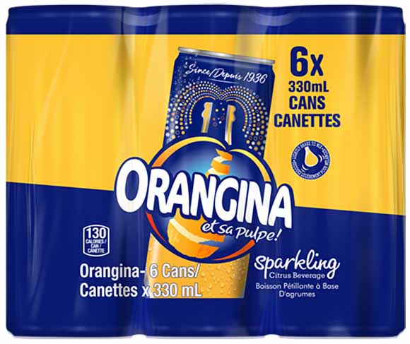 Orangina 6 Pack