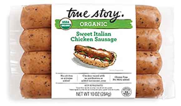 True Story Organic Chicken Sausage