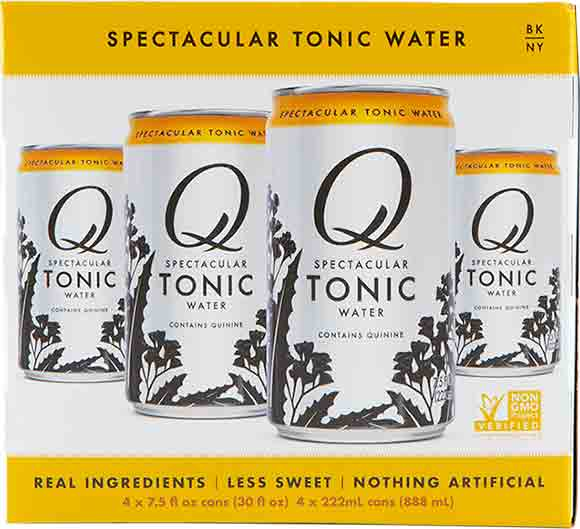 Q Tonic or Ginger Beer