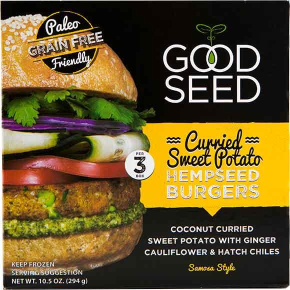 Good Seed Hempseed Burgers