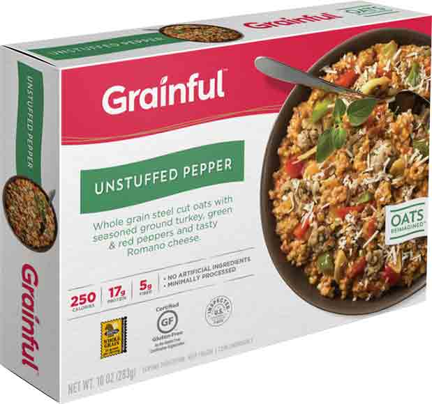 Grainful Steel Cut Oat Entrees