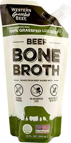 Western Grass-Fed Beef Bone Broth