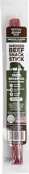 Western Grassfed Beef Sticks