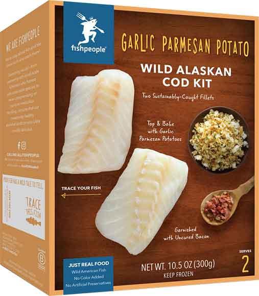 Lemon And Herb Panko Alaskan Salmon Kit